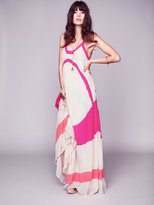 Free People Axel Colorblock Maxi Gown