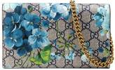 Gucci GG Blooms Supreme chain wallet