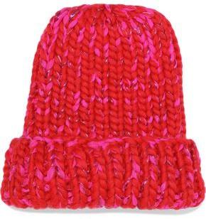 Eugenia Kim Elaine Marled Metallic Wool-blend Beanie