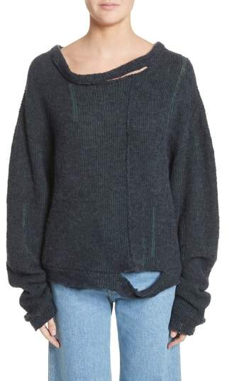 Eckhaus Latta Wiggly Road Sweater