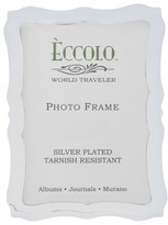 Eccolo Scalloped Silver Picture Frame