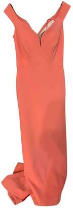 Zac Posen Pink Polyester Dresses