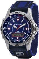 Kahuna Blue Dial Digital Blue Strap Mens Watch