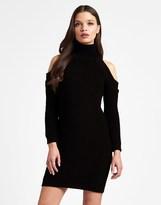 Lipsy Cold Shoulder Jumper Dress