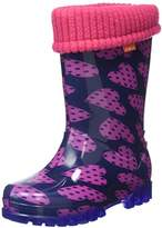 Toughees Shoes Unisex Kids Character Welly with Removable Sock Rain Boots,4/5 Child UK 20/21 EU