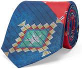 Ralph Lauren Ikat Silk Habotai Narrow Tie