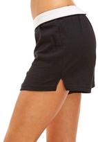Soffe Black V-Notch Shorts