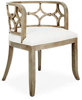 Massoud Furniture Lily Chair - Ivory Linen