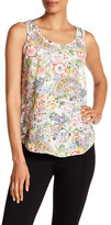 philosophy Raw Edge Floral Tank