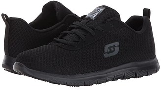 Skechers Ghenter - Bronaugh (Black Mesh/Water/Stain Repellent Treatment) Women's Lace up casual Shoes