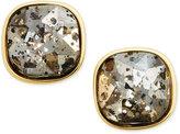 ABS by Allen Schwartz Gold-Tone Dark Horse Stud Earrings
