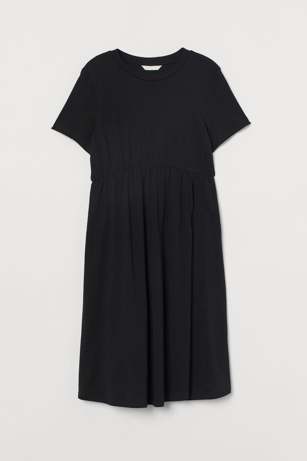 H&M - MAMA Cotton Dress - Black