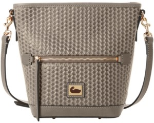 Dooney & Bourke Camden Woven Leather Crossbody Bag