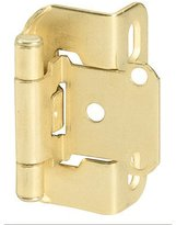Amerock D75503 SelfClosing Partial Wrap QTY Cabinet Hinge, Bright