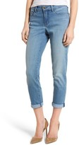 NYDJ Women's Alina Roll Cuff Stretch Ankle Skinny Jeans
