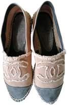 Chanel Beige Cloth Espadrilles