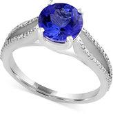 Effy Final Call Tanzanite (1-9/10 ct. t.w.) and Diamond (1/5 ct. t.w.) Ring in 14k White Gold