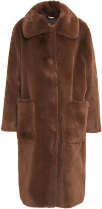 Stand Studio Taylor Oversized Faux Fur Coat