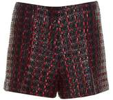 Sonia Rykiel Coated-tweed tailored shorts