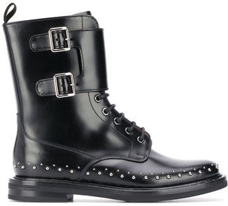 Church's Buckle Leather Boots