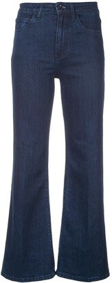 Eve Denim Flared High Waisted Jeans