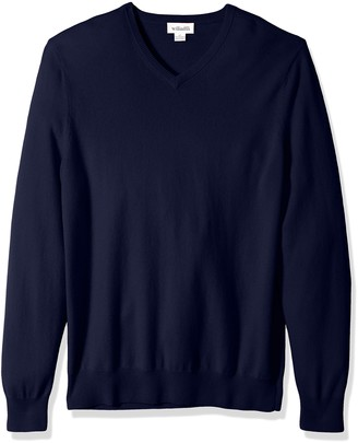 Williams Cashmere Men's 100% Cashmere Big-Tall V-Neck Sweater