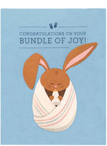 Good paper Bundle of joy notecard