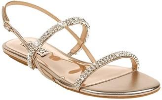 Badgley Mischka Zandra (Champagne) Women's Dress Sandals