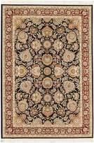 "Ecarpetgallery eCarpet Gallery 118978 King David 400 Lines Silk Area Rug, 4 x 6"", Blue"