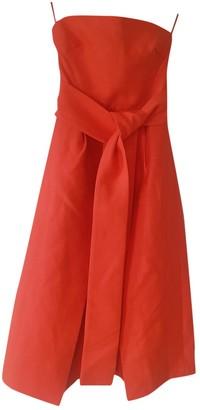 C/Meo Orange Polyester Dresses