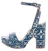 Tabitha Simmons Calla Floral Sandals
