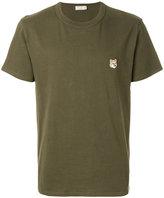 MAISON KITSUNÉ Fox Patch T-shirt - men - Cotton - S