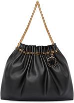 Stella McCartney Black Chain Hobo Bag