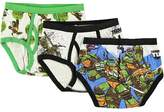 "Nickelodeon TMNT Little Boys' ""4 Brothers"" 3-Pack Briefs"