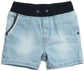 HUGO BOSS Stretch Denim Shorts