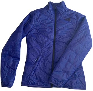 The North Face Blue Leather Jacket for Women