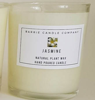 Barrie Candle Company - Jasmine Scented Candle - Signature (20cl)