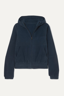 LNDR Ember Hooded Fleece Jacket - Navy