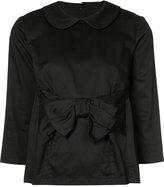 Comme des Garcons bow-embellished blouse - women - Cotton - M