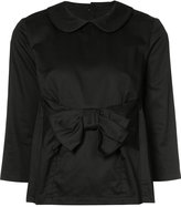 Comme des Garcons bow-embellished blouse - women - Cotton - XS