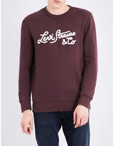 Levi's Embroidered cotton-jersey sweatshirt