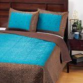 Teal/Java Lotus Bedding