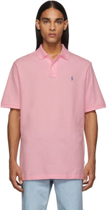 Polo Ralph Lauren Pink Mesh Iconic Polo