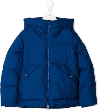 Woolrich Kids hooded puffer jacket