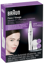 Braun Face Mini Epilator & Facial Cleansing Brush