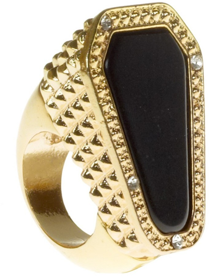 Belle Noel by Kim Kardashian Stone and Pave Cocktail Ring