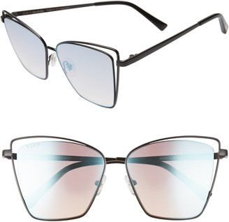 DIFF Becky III 57mm Sunglasses