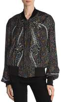 The Kooples Gipsy Embellished Bomber Jacket