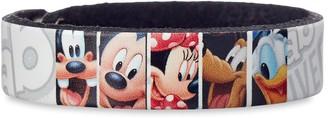 Disney Mickey Mouse and Friends Sketch Leather Bracelet Personalizable