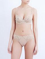 Wacoal Eglantine stretch-lace underwired bra